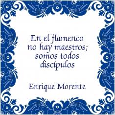 """""""In de flamenco zijn er geen meesters; we zijn allen leerlingen"""""""